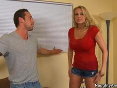 Huge boobs factor