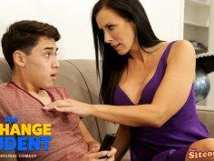Reagan Foxx in The Exchange Student Unexpected Encounter - ThatsItComShow
