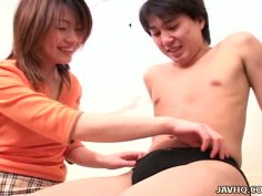 Chika Orihara is banged rough in various positions