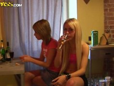 College chics celebrating birthday party