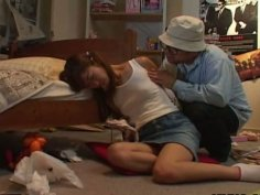 Naive Japanese chic Ami Hyuuga gets mauled by aroused dude